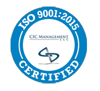 ISO 9001:2015 Certified by CIC Management